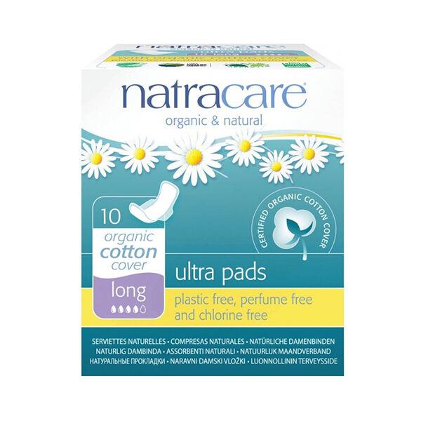 Natracare Serviette Ultra Plus 10 unités