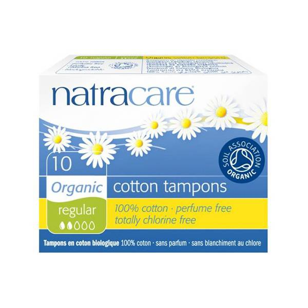 Natracare Tampon Normal 10 unités