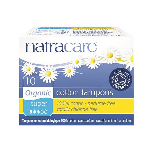 Natracare Tampons Super 10 unités