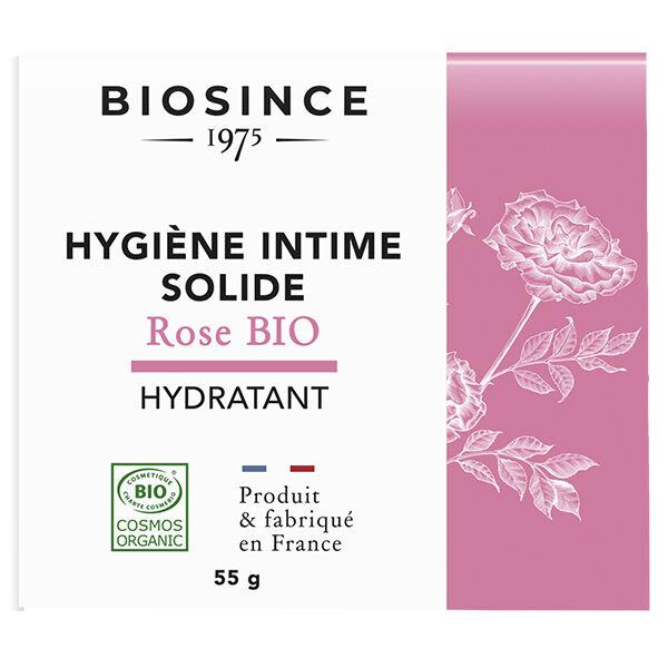 Gravier Biosince 1975 Hygiène Intime Solide Hydratant Rose Bio 55g