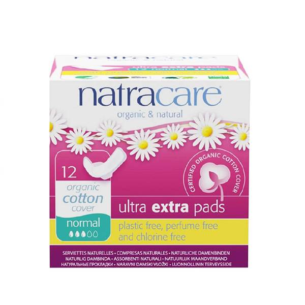 Natracare Serviette Ultra Extra Normal 12 unités