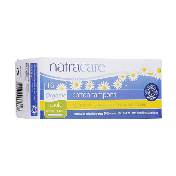 Natracare Tampons Normal avec Applicateur 16 unités