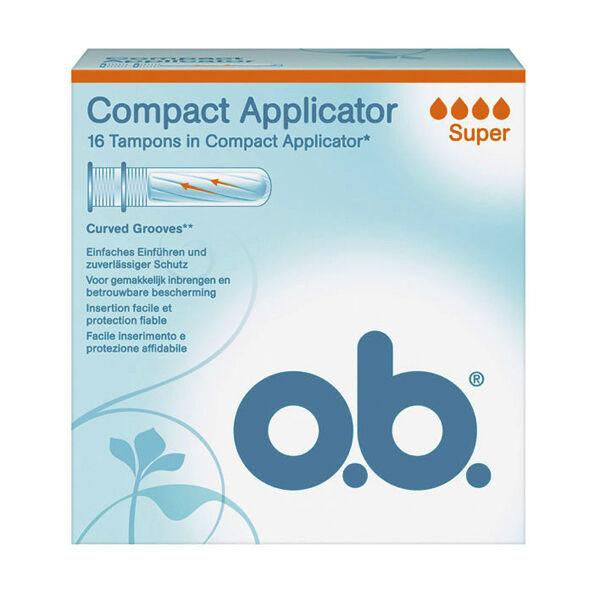 OB Applicateur Compact Super 16 tampons avec applicateur