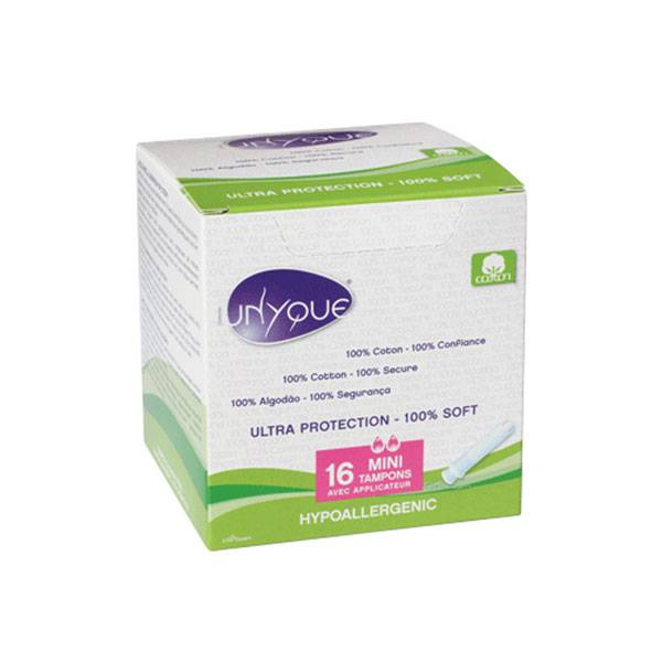 Unyque Tampons avec Applicateur Mini x 16