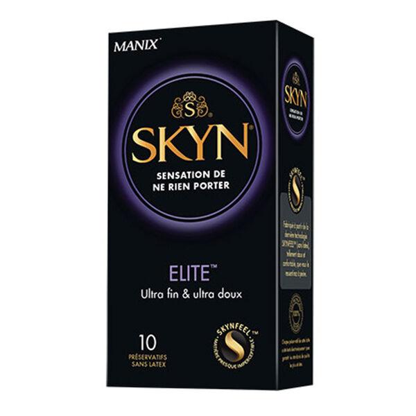 Manix Skyn Elite Sans Latex 10 préservatifs
