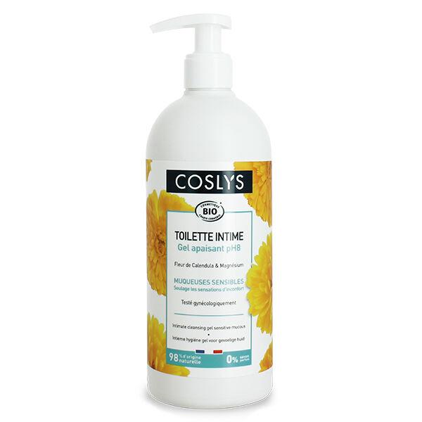Coslys Toilette Intime Gel Apaisant pH8 Bio 500ml