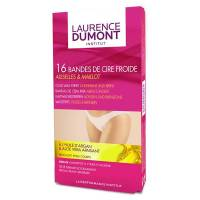 Laurence Dumont Institut Bandes Cire Froide Aisselles & Maillot 16 unités <br /><b>4.40 EUR</b> Santédiscount