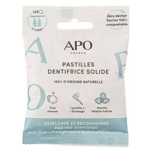 APO Pastilles Dentifrice Solide Cosmos Natural 125 unités - Publicité