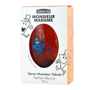 Le Comptoir du Bain Savon Monsieur Génial Parfum Abricot 100g