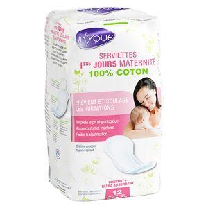 Unyque Maternité Serviettes Premiers Jours 12 protections - Publicité