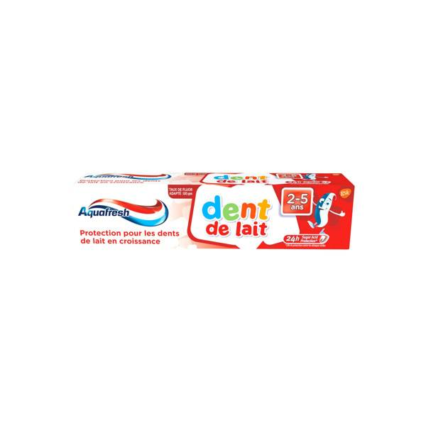 Aquafresh Dentifrice Dents de Lait 3-5ans 50ml