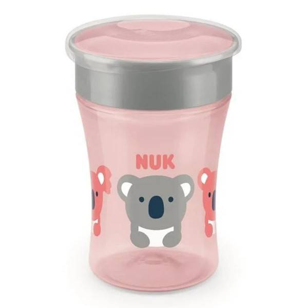 Nuk Magic Cup 360 Silicone Koala Tortue 230ml +8m