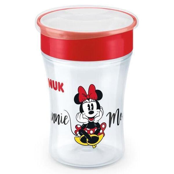 Nuk Tasse d'Apprentissage Magic Cup 360 +8m Minnie 230ml