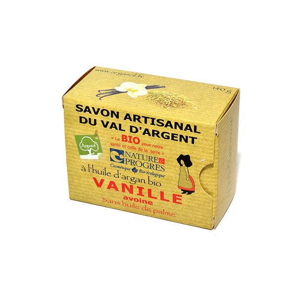 Argasol Bio Savon Vanille Avoine 140g