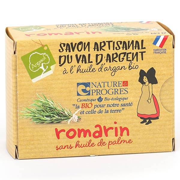 Argasol Bio Savon Romarin 140g