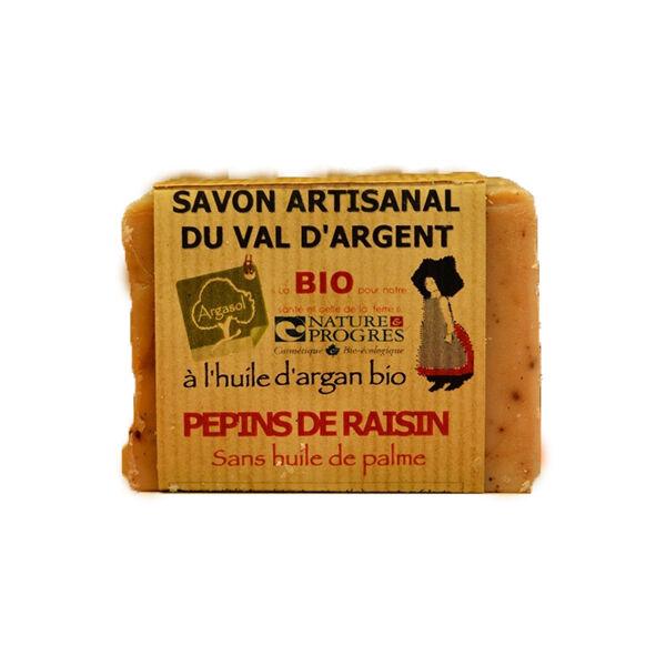 Argasol Bio Savon Pepins de Raisin 140g