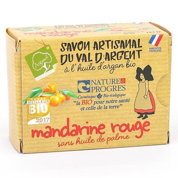 Argasol Bio Savon Mandarine Rouge 140g