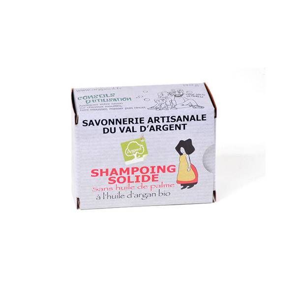 Argasol Bio Shampoing Solide à l'Huile d'Argan 140g