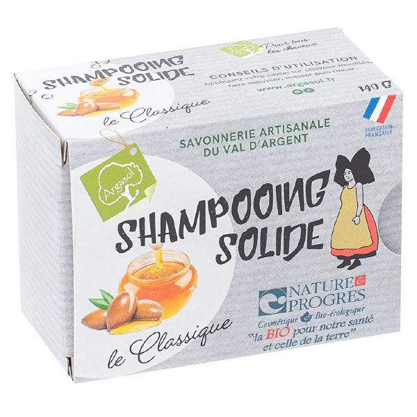 Argasol Bio Shampooing Solide à l'Huile d'Argan 140g