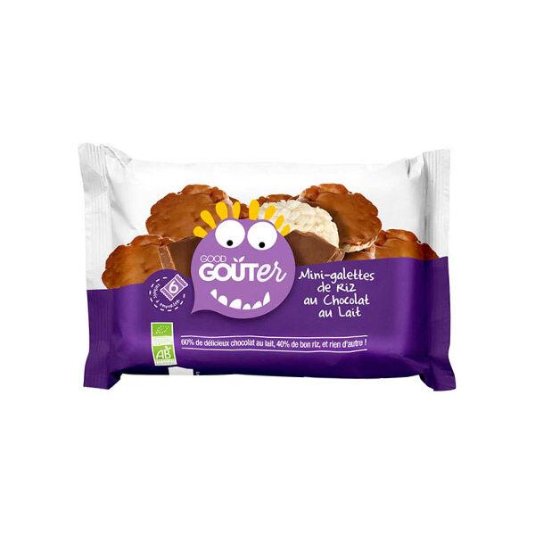 Good Goût Kidz Mini Galettes de Riz Chocolat au Lait +3ans Bio 6 x 20g
