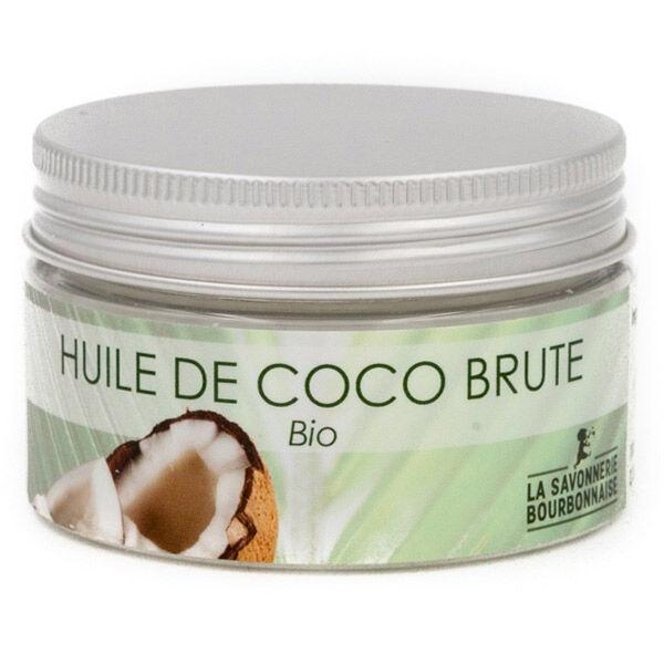 La Savonnerie Bourbonnaise Huile de Coco Brute Bio 150ml