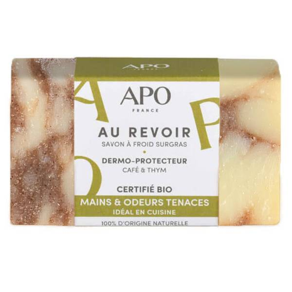 APO Savon Surgras Au Revoir Mains et Odeurs Tenaces Bague Bio 100g