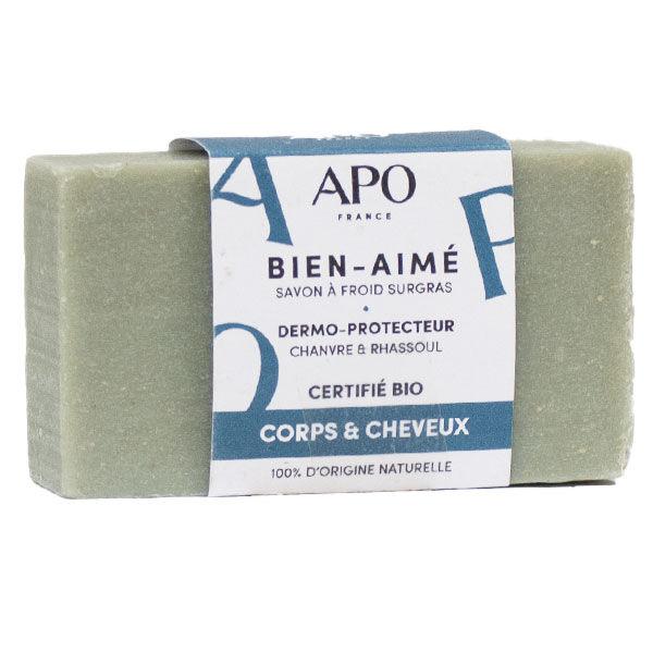 APO Savon Bien-Aimé Corps et Cheveux Bague Bio 100g