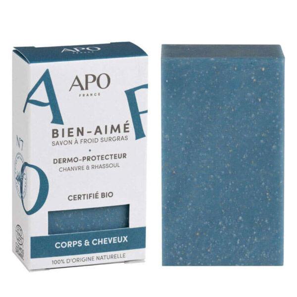 APO Savon Bien-Aimé Corps et cheveux Etui Bio 100g