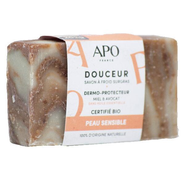 APO Savon Douceur Peau Sensible Bague Bio 100g