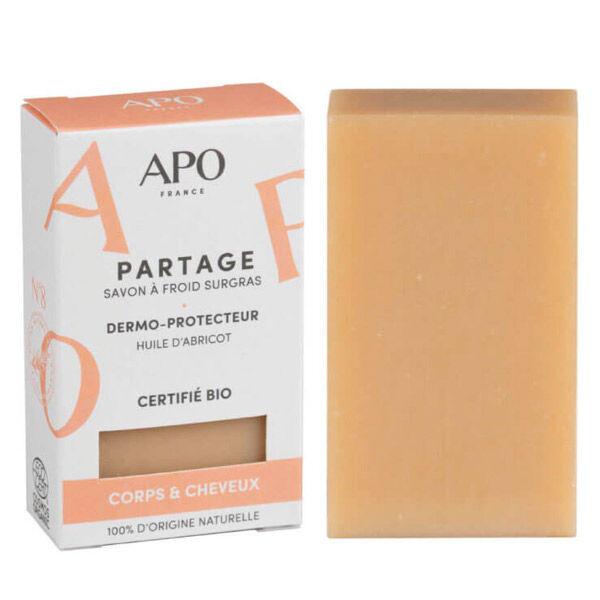 APO Savon Partage Corps & Cheveux Etui Bio 100g