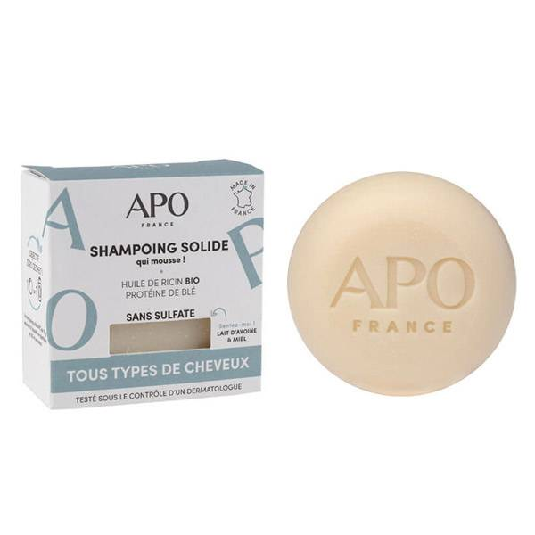 APO Shampoing Solide Cheveux Normaux 75g