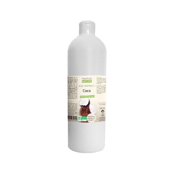 Propos'Nature Huile Végétale Coco Bio 500ml