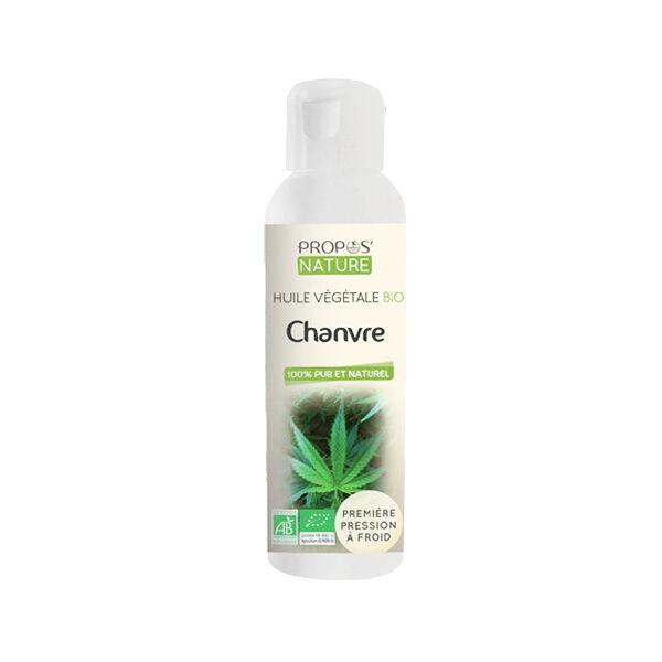 Propos'Nature Huile Végétale Chanvre Bio 100ml
