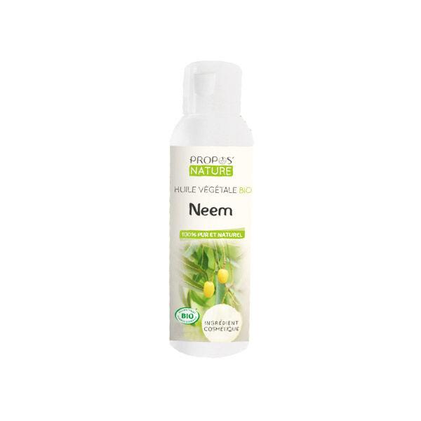 Propos'Nature Huile Végétale Bio Neem 100ml