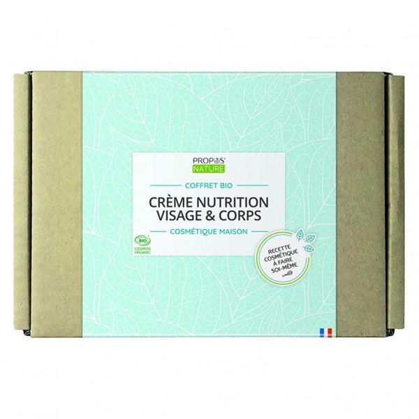 Propos'Nature Cosmétique Maison Coffret Bio Crème Nutrition Visage & Corps
