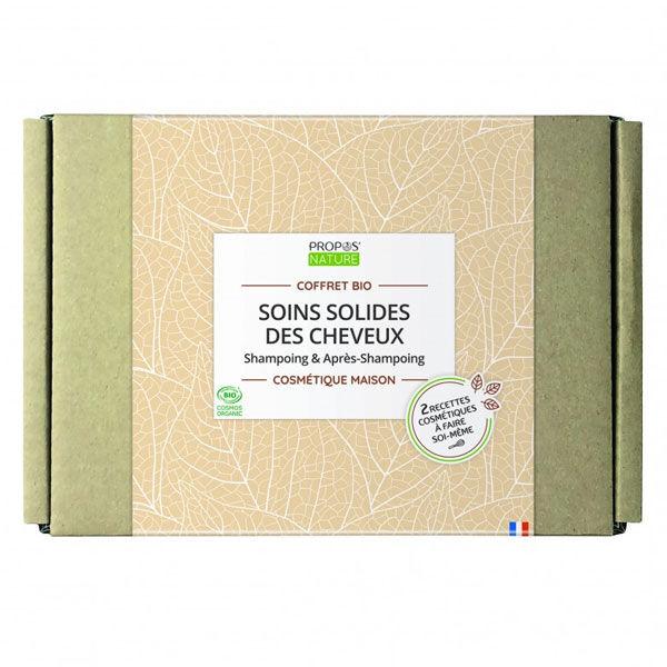 Propos'Nature Propos' Nature Cosmétique Coffret Fait-Maison Soins Solides des Cheveux Bio