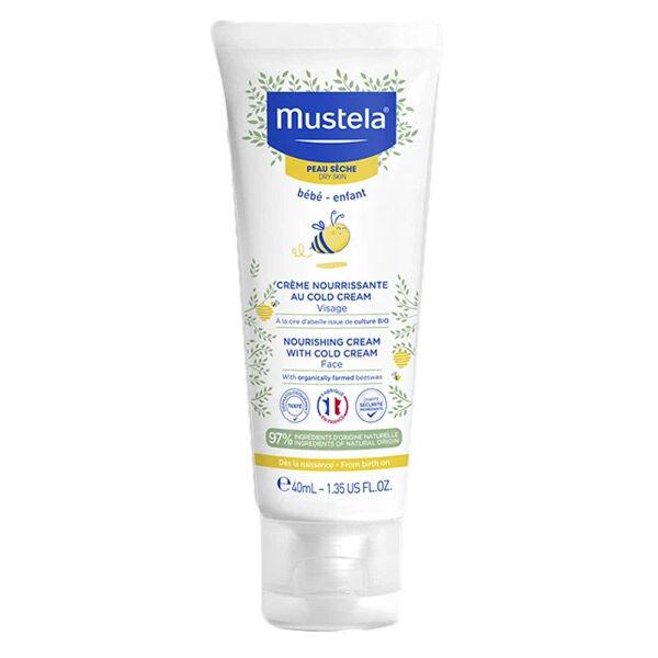 Mustela Crème Nourrissante au Cold Cream Visage Peau Sèche 40ml