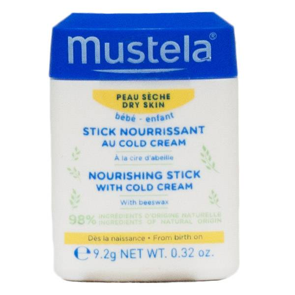 Mustela Stick Nourrissant au Cold Cream Peau Sèche 9.2g