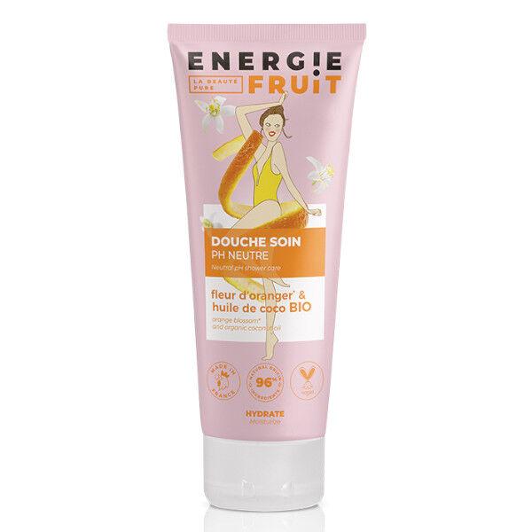Energie Fruit Gel Douche Fleur d'Oranger et Huile Coco Bio 200ml