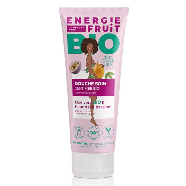 Energie Fruit Gel Douche Fruit de la Passion & Aloe Vera Bio 200ml