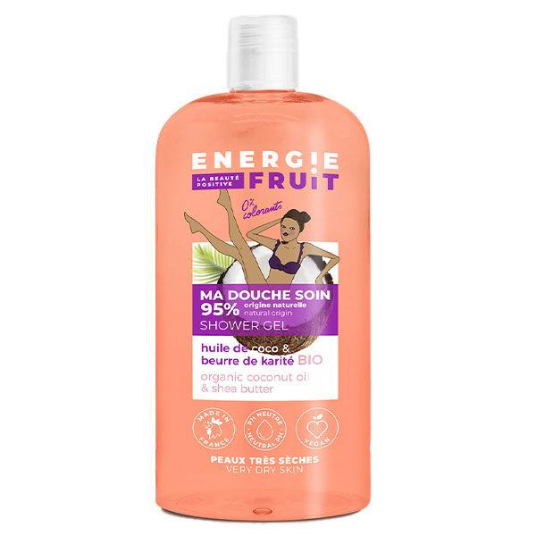 Energie Fruit Gel Douche Coco et Beurre de Karité Bio 500ml