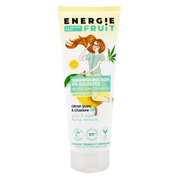 Energie Fruit Shampooing Soin Citron Yuzu & Chanvre Bio 250ml