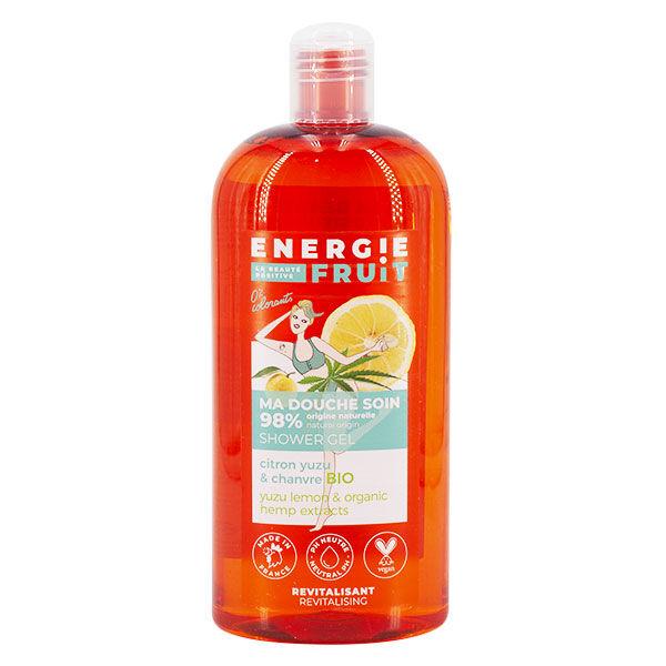 Energie Fruit Gel Douche Citron Yuzu & Chanvre Bio 500ml