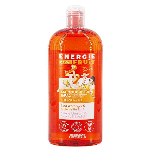 Energie Fruit Gel Douche Fleur d'Oranger & Huile de Lin Bio 500ml