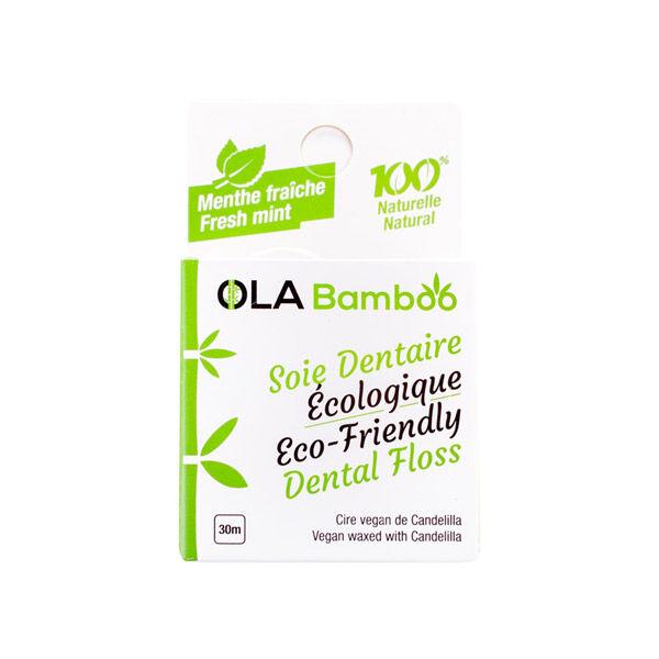 Ola Bamboo Soie Dentaire Ecologique