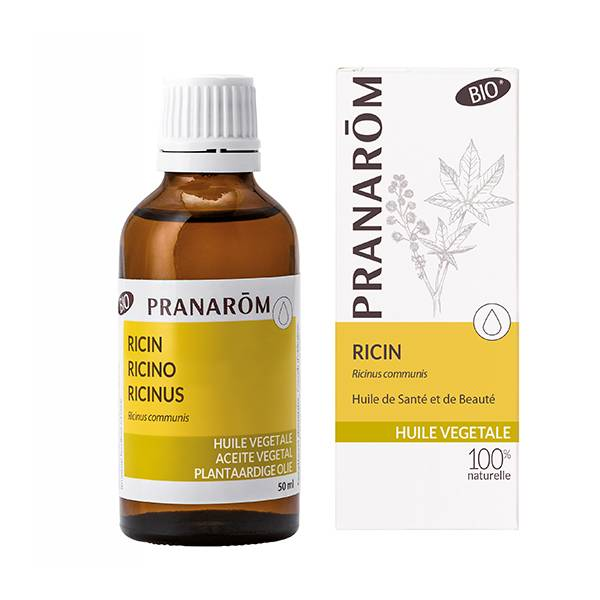 Pranarom Huile Végétale Bio Ricin 50ml