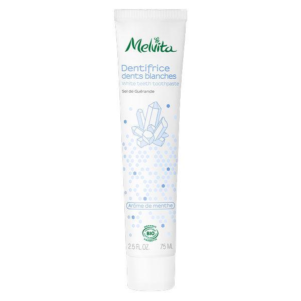 Melvita Les Essentiels Dentifrice Dents Blanches Bio 75ml