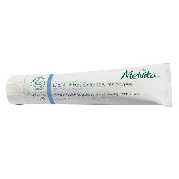 Melvita - Les Essentiels - Dentifrice Dents Blanches Sans Emballage 75ml