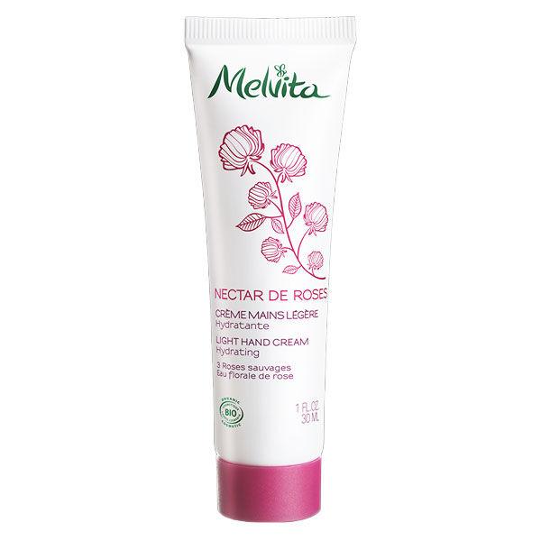 Melvita Nectar de Roses Crème Mains Légère Hydratante Bio 30ml