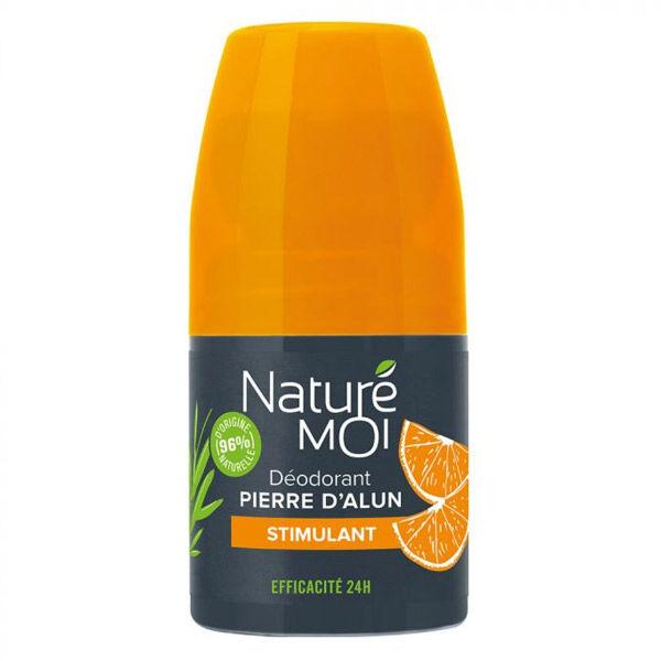 Naturé Moi Déodorant Homme Pierre d'Alun Stimulant 50ml